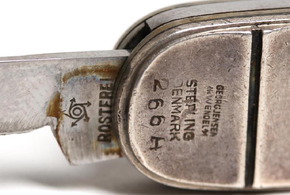 Rare Georg Jensen Wendel Sterling Silver Pocket Knife - 4