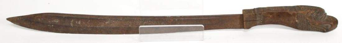 Antique Filipino Fighting Knife with Eagle Hilt