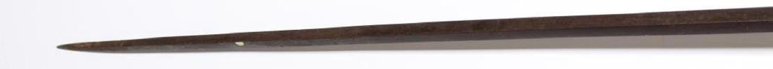 Militaria- Antique Continental Steel & Wood Pike - 5