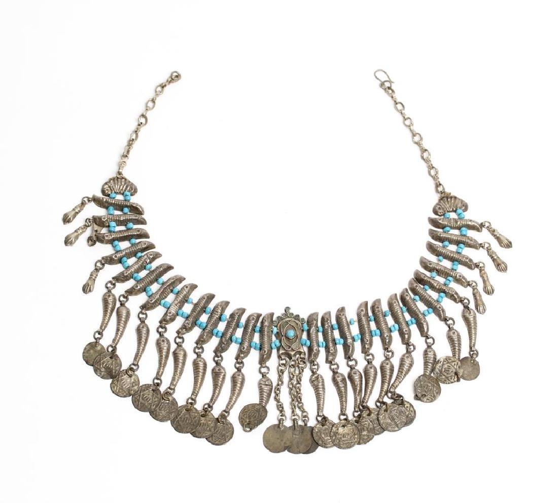 Judaica Beaded Necklace