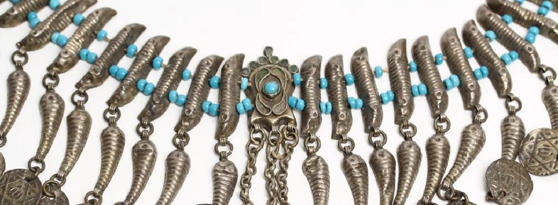 Judaica Beaded Necklace - 3