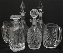 Vintage Cut & Leaded Crystal Barware
