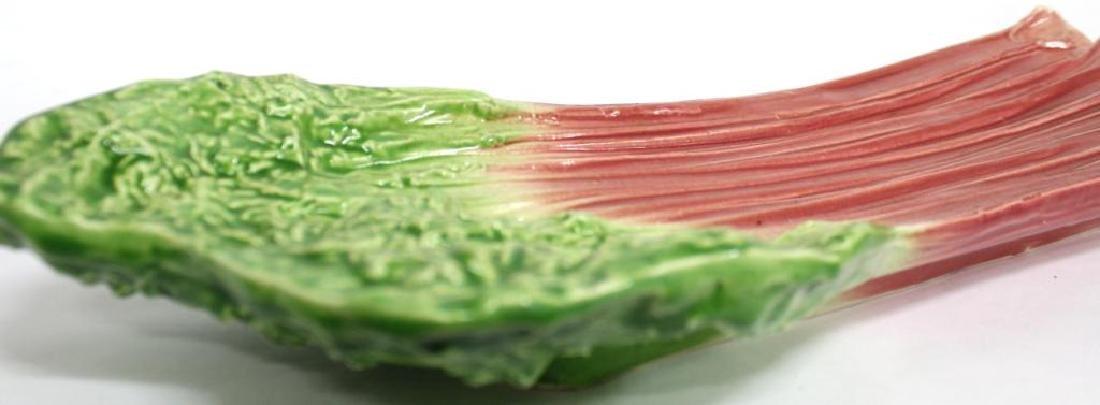 2 B. Eigler Hand-Painted Vegetable Platters, 1983 - 6