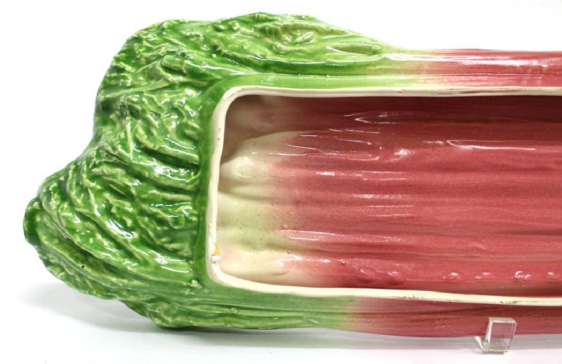 2 B. Eigler Hand-Painted Vegetable Platters, 1983 - 7