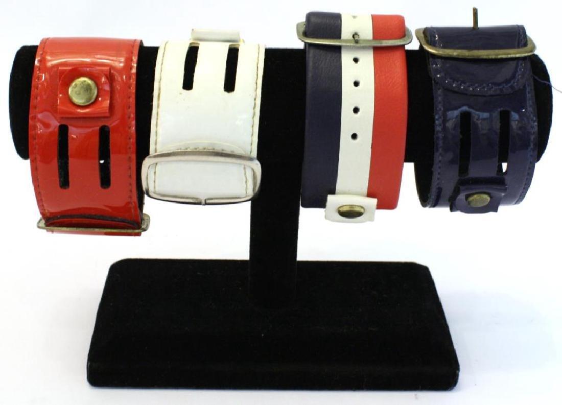 1970s Bicentennial Pepsi Watch & 4 Different Bands - 3