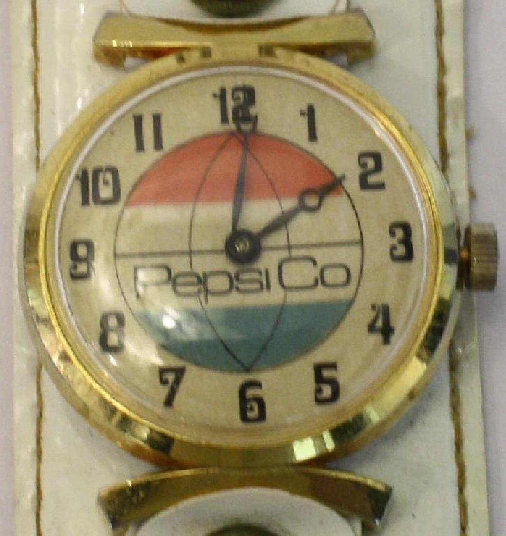 1970s Bicentennial Pepsi Watch & 4 Different Bands - 4