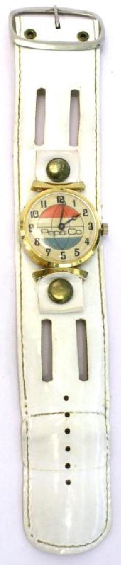 1970s Bicentennial Pepsi Watch & 4 Different Bands - 5