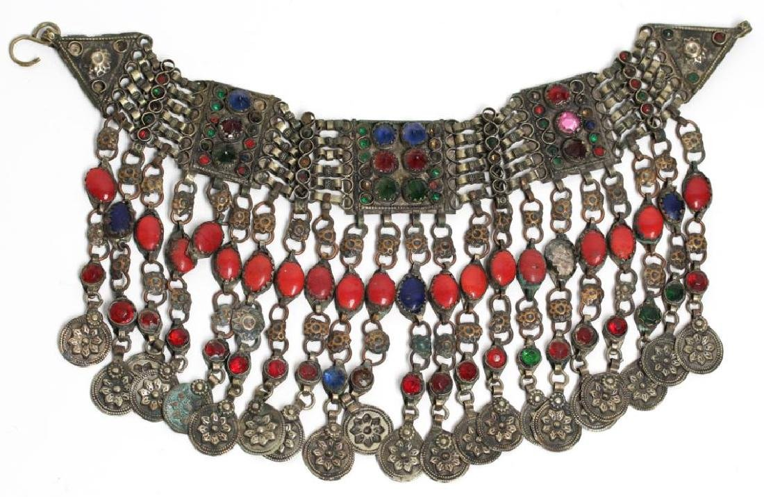 North African Tribal Choker Necklace