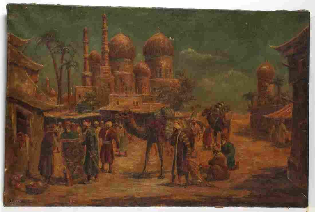 Charles Wolfert (German, b. 1900) - Oil on Canvas