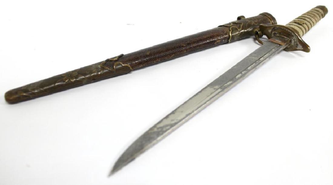 Militaria- Antique Japanese Tanto Dagger
