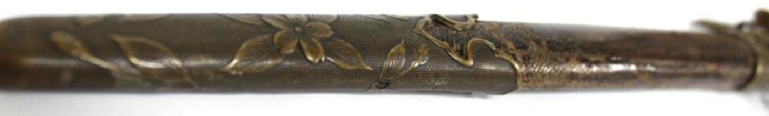 Militaria- Antique Japanese Tanto Dagger - 5