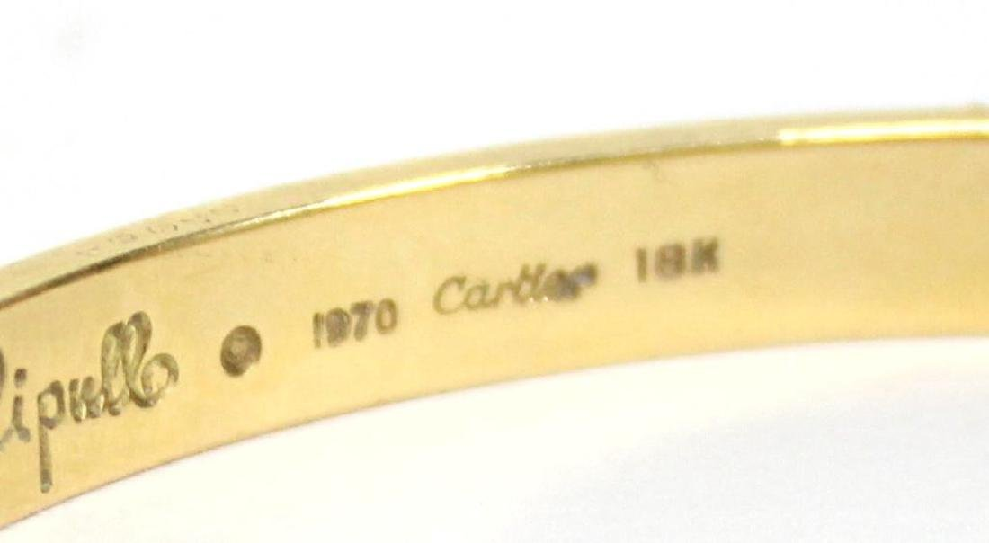 Cartier 18K Gold Love Bracelet, Aldo Cipullo - 5
