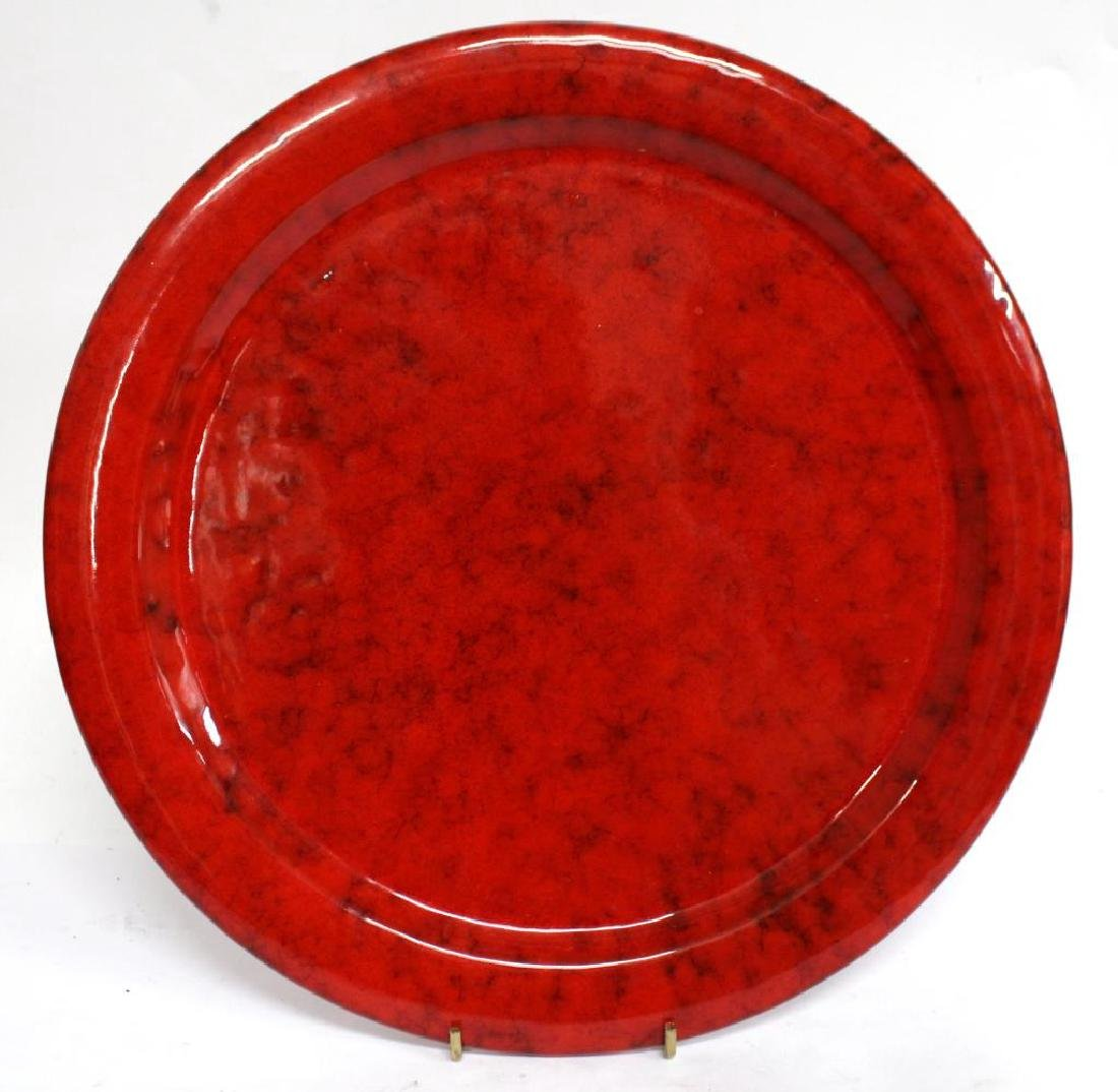 Group of Italian Red-Glazed Pottery Dishes - 3