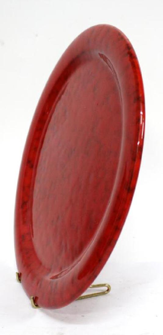 Group of Italian Red-Glazed Pottery Dishes - 4