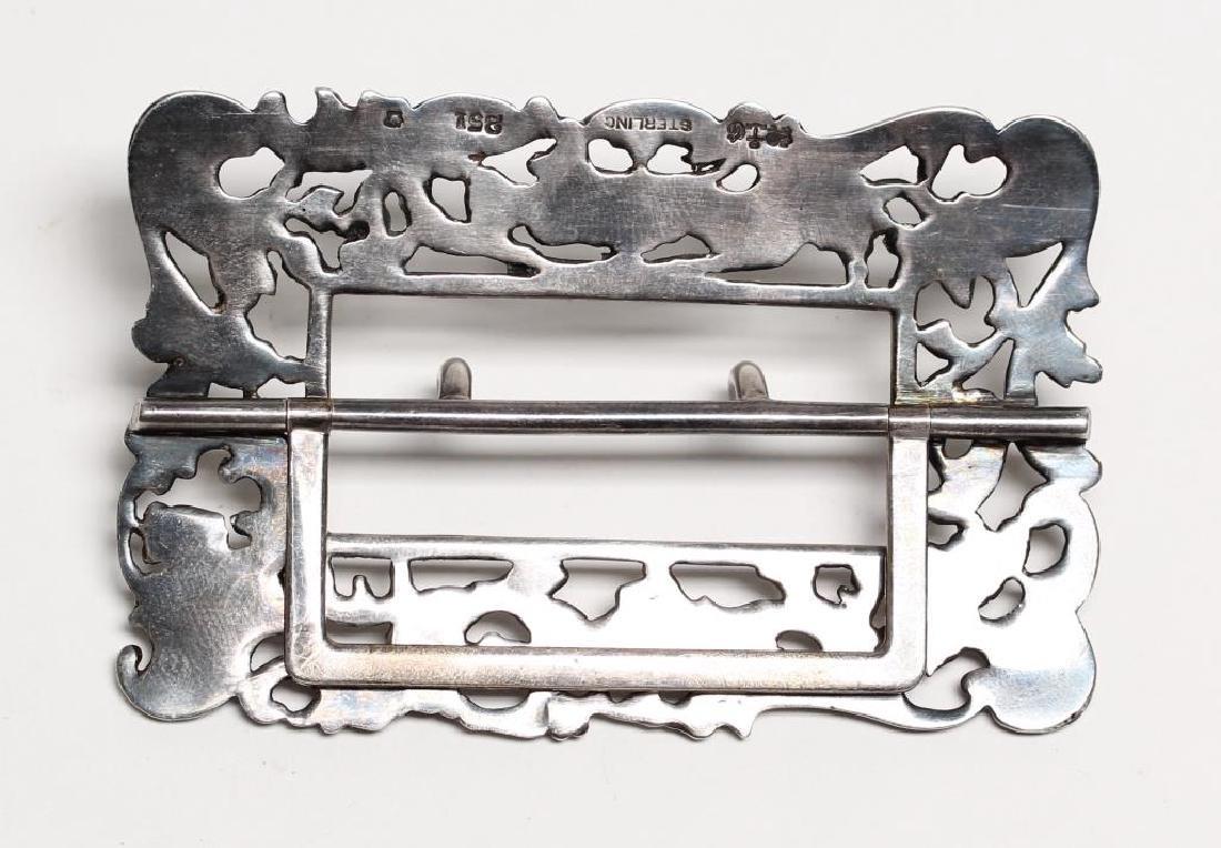 Gorham Silver Belt Buckle - 2