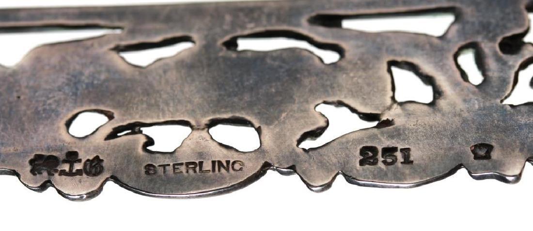Gorham Silver Belt Buckle - 3