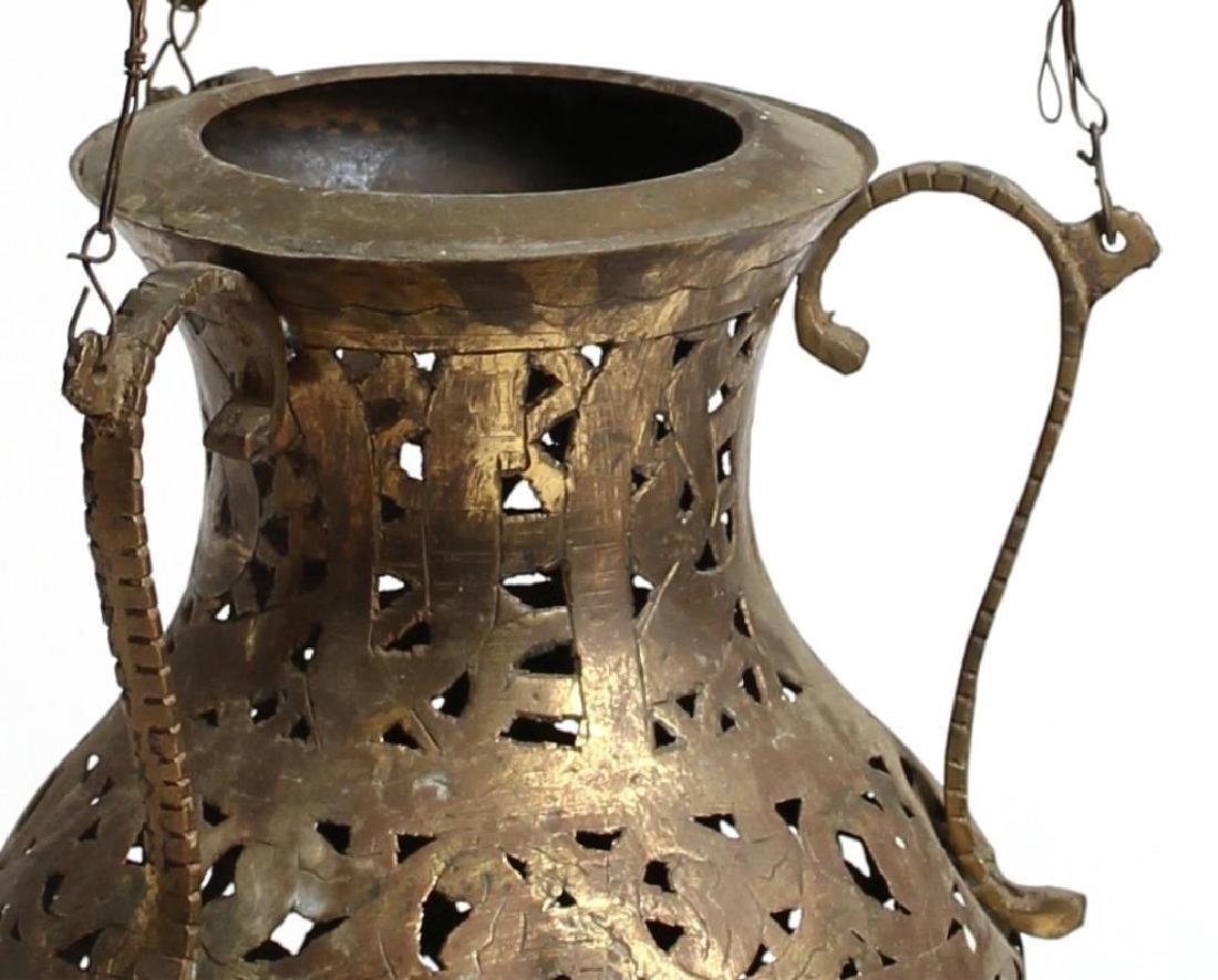 Moroccan Jeweled Glass Incense Burner - 3