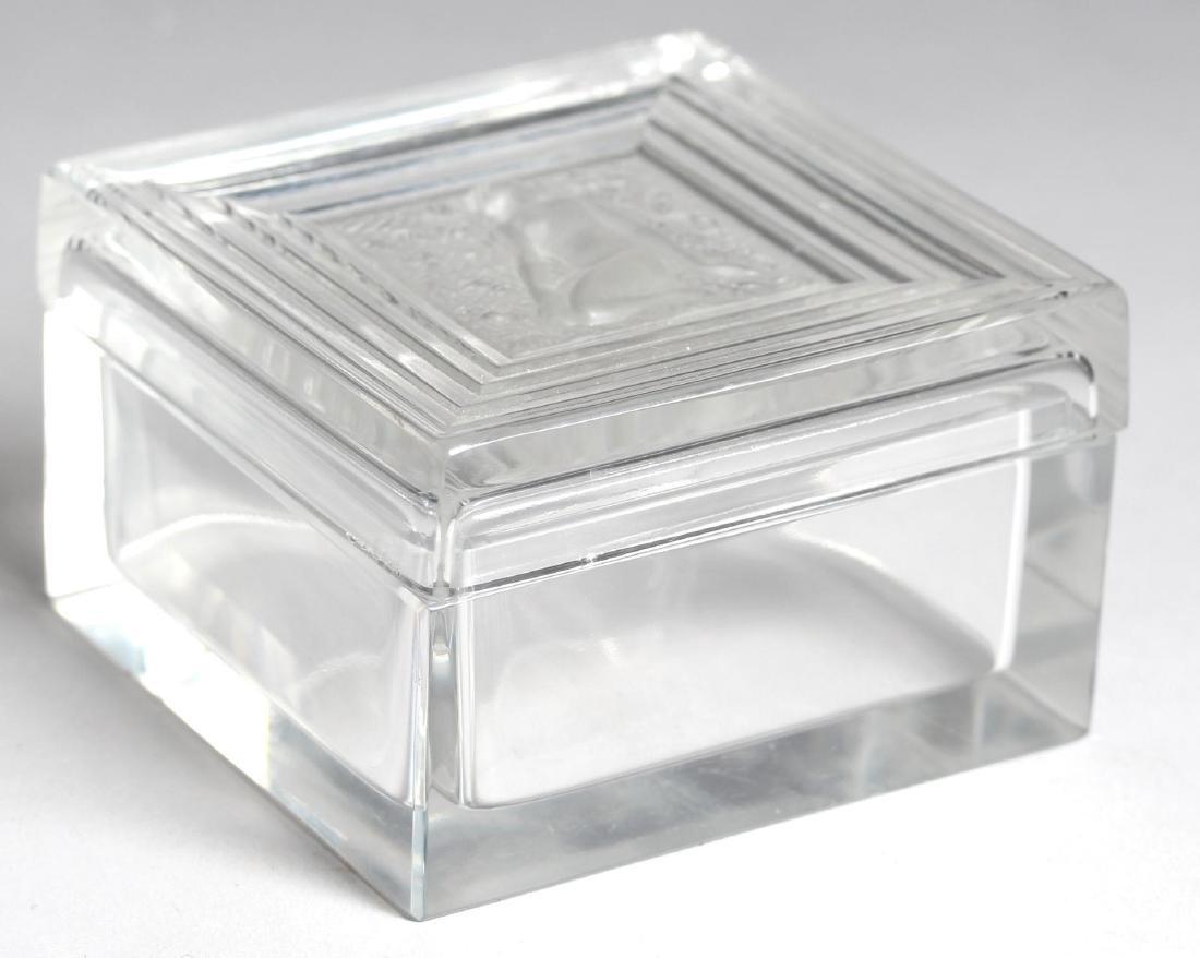 Lalique Glass Box