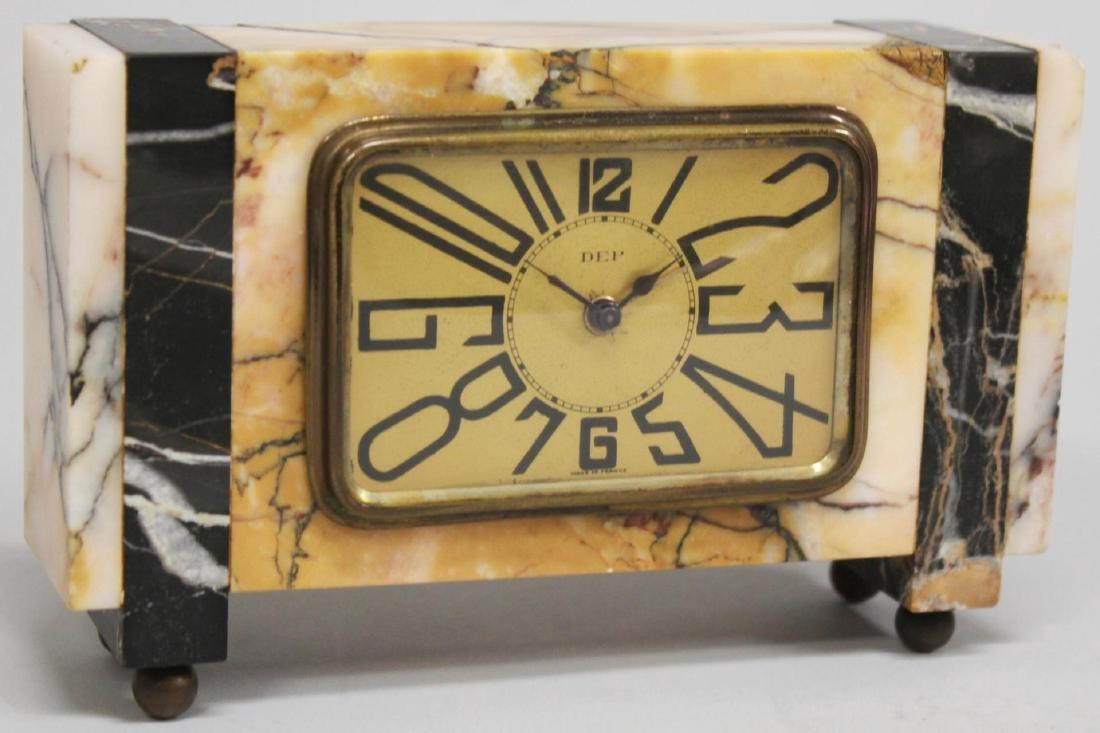 DEP Marble Desk Clock