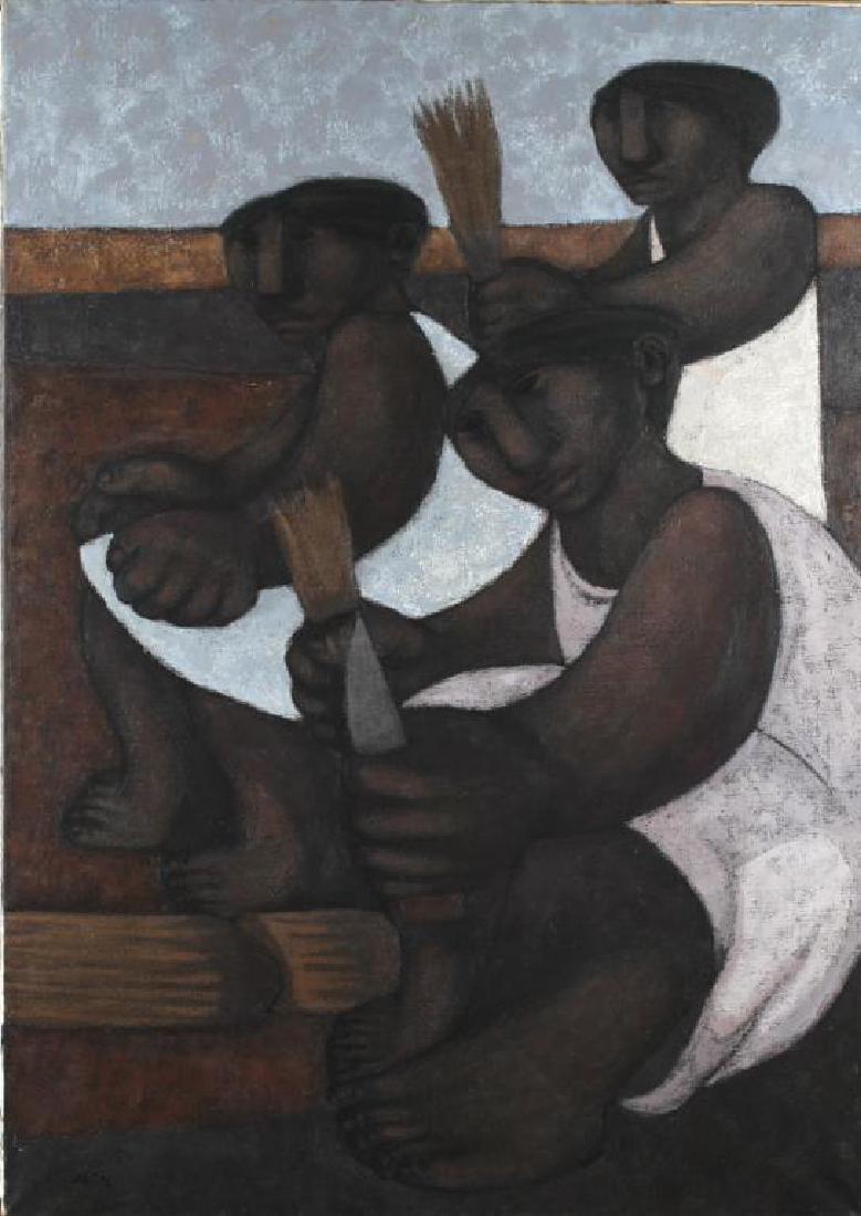 Julia Elena Diz (Argentina, 1928-) Oil on Canvas