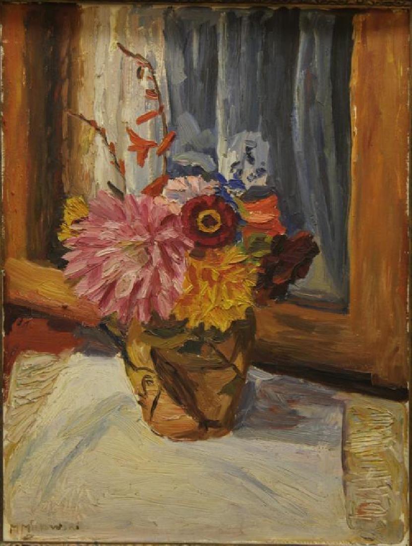 Maurycy Minkowski (Polish/Argentinean, 1881-1930)- Oil