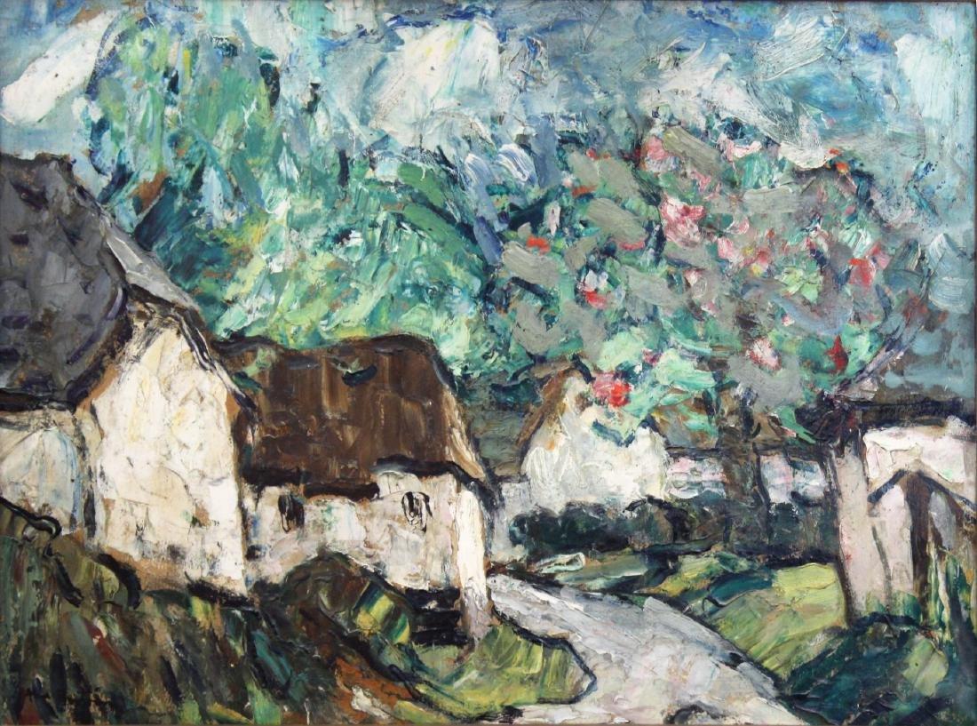 Abel Bertram (French, 1871-1954)- Oil on Canvas