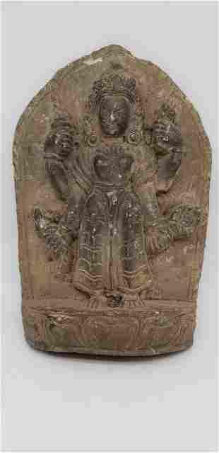 ANCIENT TIBETAN STONE CARVING