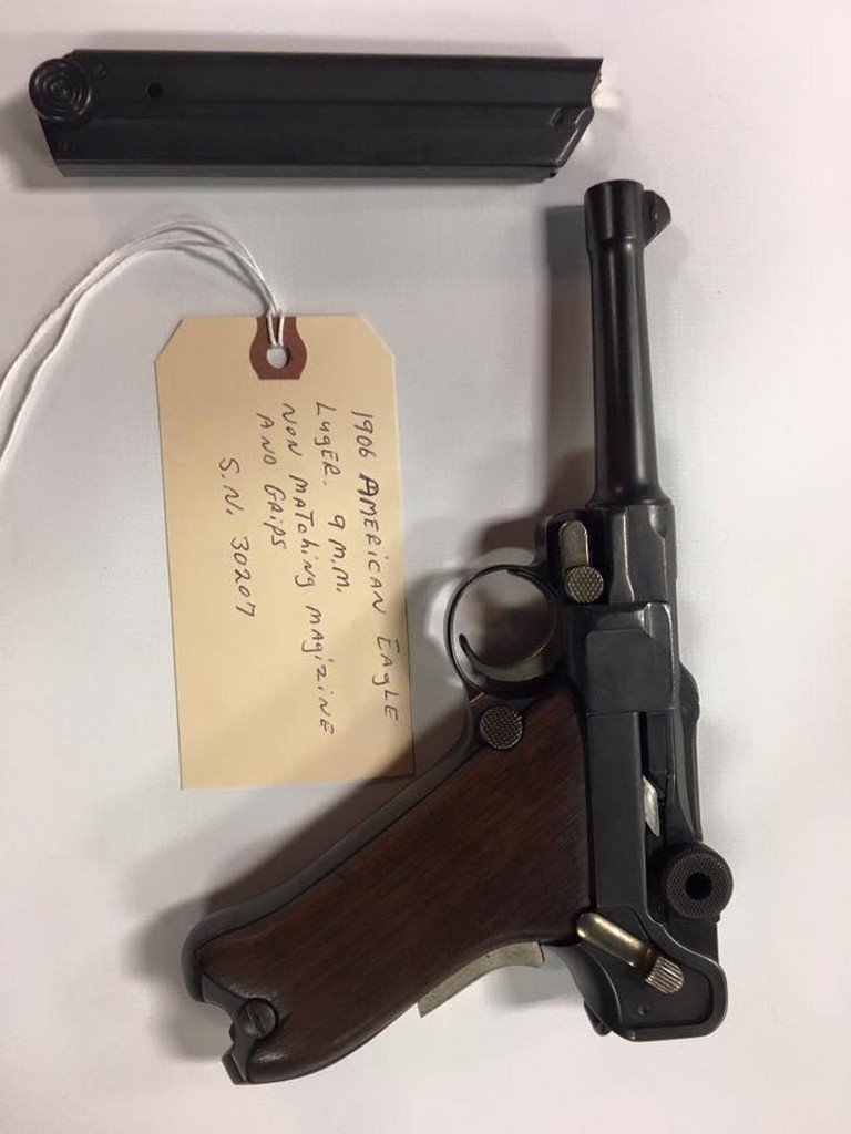 1906 American Eagle Luger 9MM SN 30207