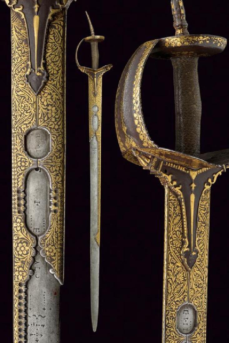 A beautiful and early firangi, dating: 17th Century,