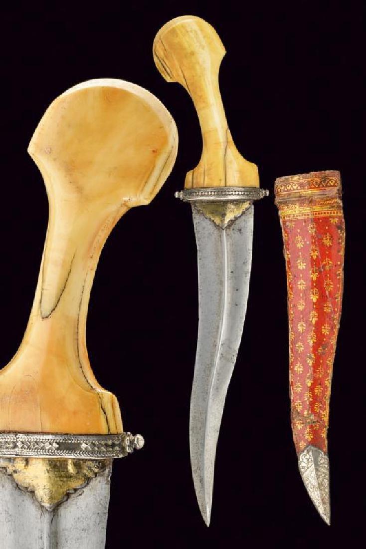 A rare dagger, dating: 17th/18th Century, provenance: