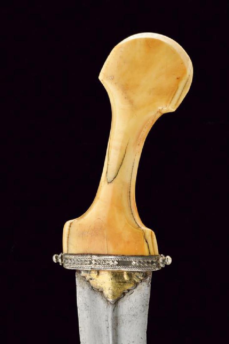 A rare dagger, dating: 17th/18th Century, provenance: - 2