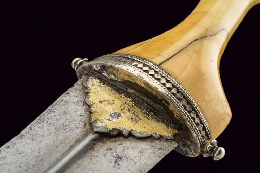 A rare dagger, dating: 17th/18th Century, provenance: - 3