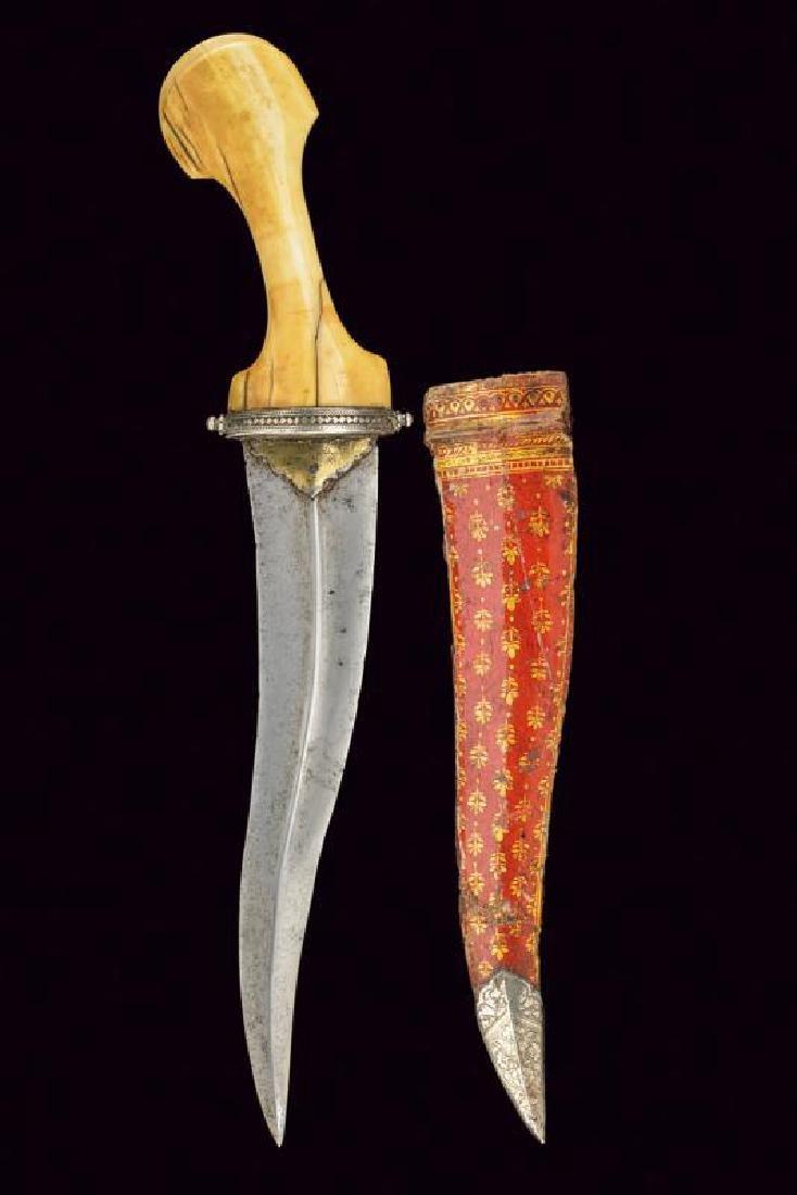 A rare dagger, dating: 17th/18th Century, provenance: - 4