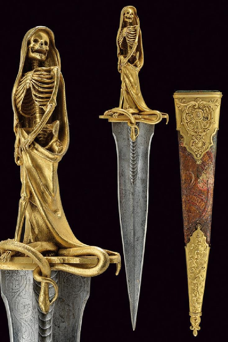 An exceptional dagger for esoteric rituals, dating: