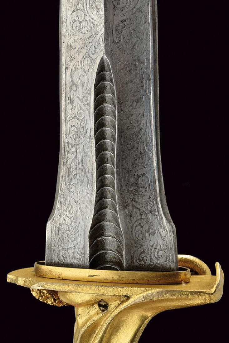 An exceptional dagger for esoteric rituals, dating: - 6