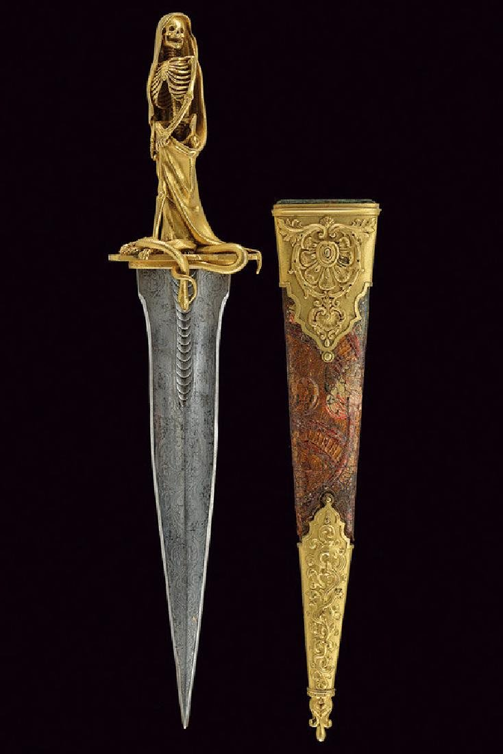 An exceptional dagger for esoteric rituals, dating: - 7