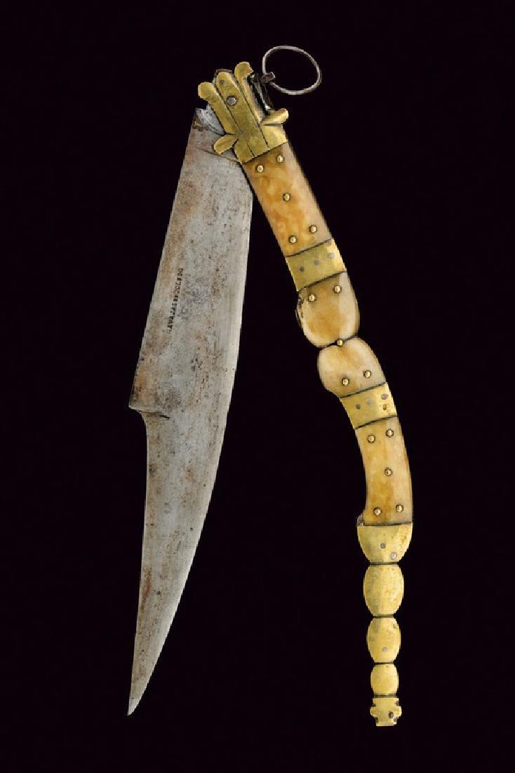 A big navaja, dating: 19th Century, provenance: Spain,