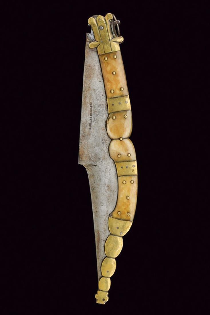 A big navaja, dating: 19th Century, provenance: Spain, - 2