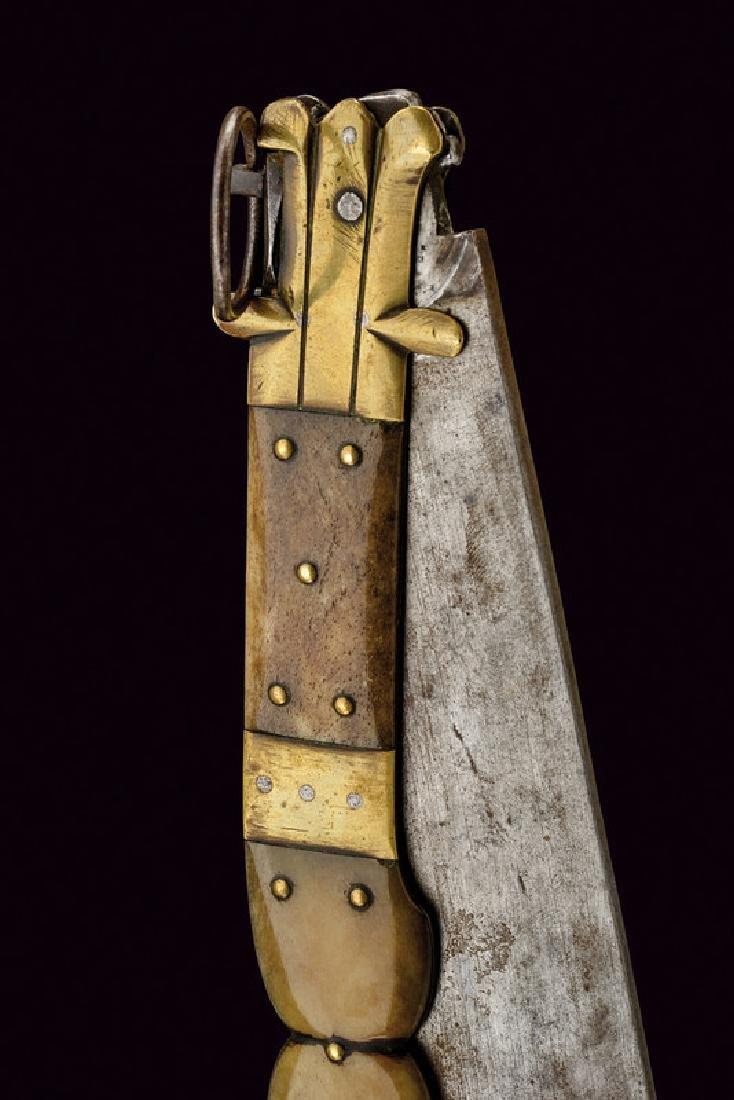 A big navaja, dating: 19th Century, provenance: Spain, - 3