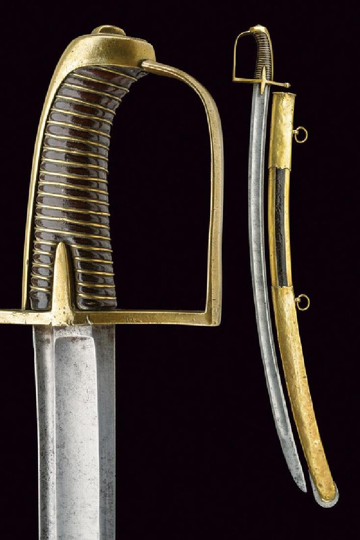A revolution period hussar's sabre, dating: 1796 - 98,