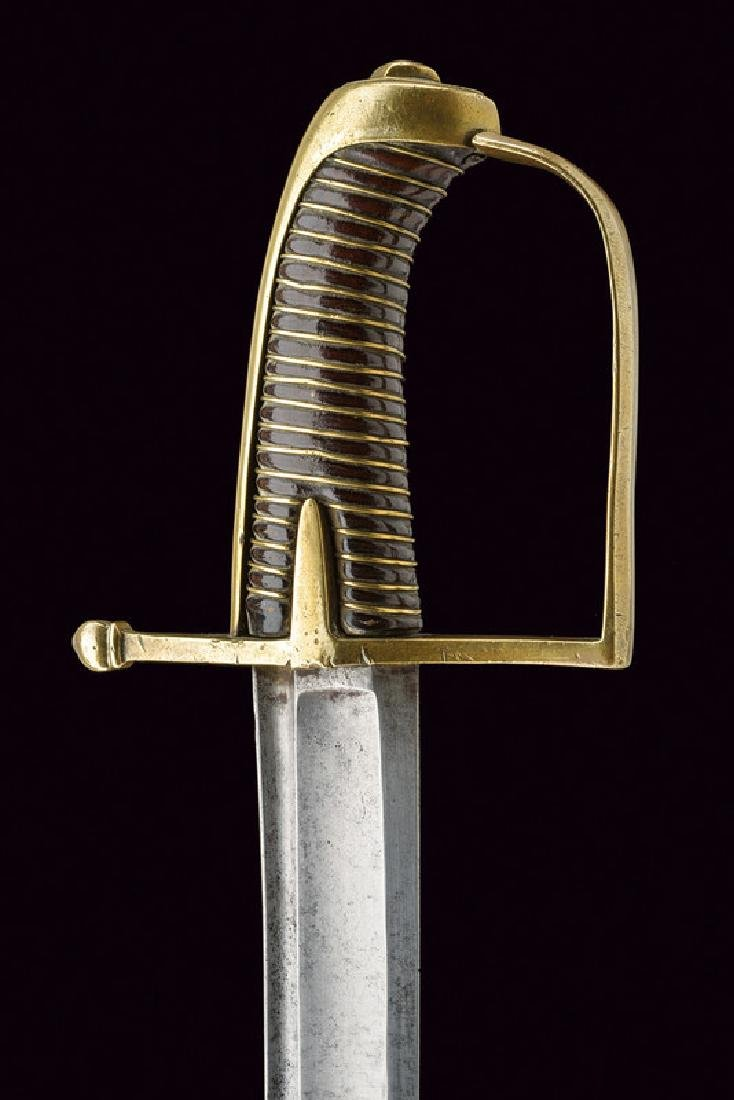 A revolution period hussar's sabre, dating: 1796 - 98, - 2