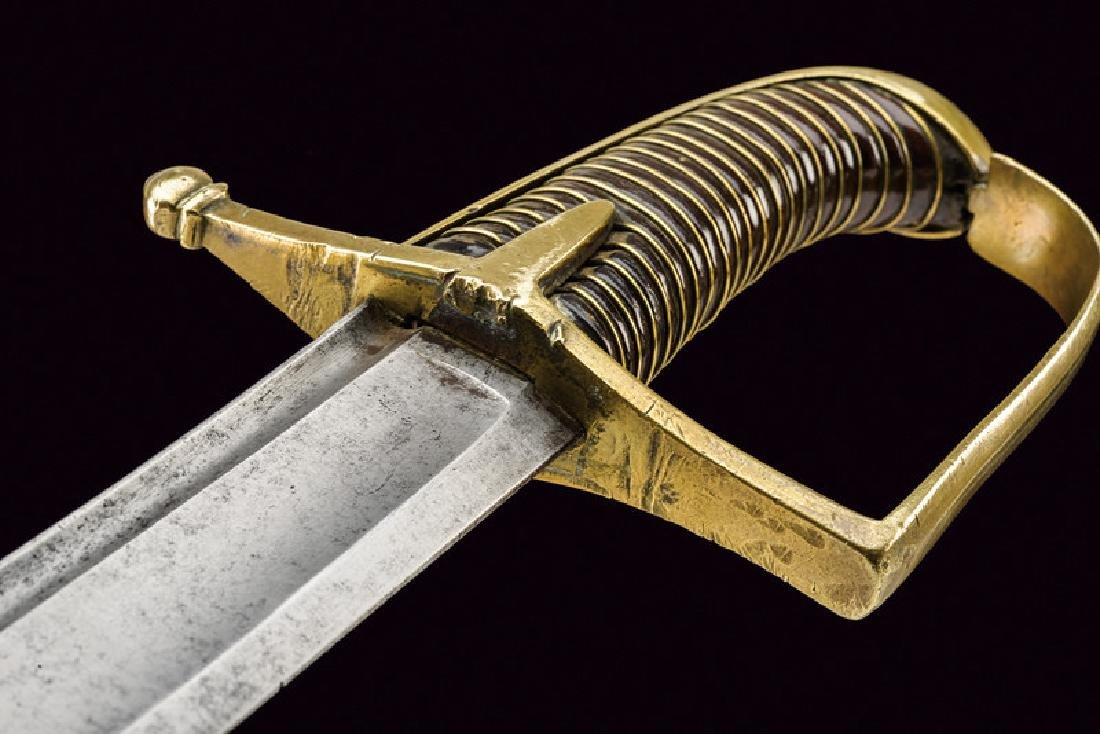 A revolution period hussar's sabre, dating: 1796 - 98, - 4