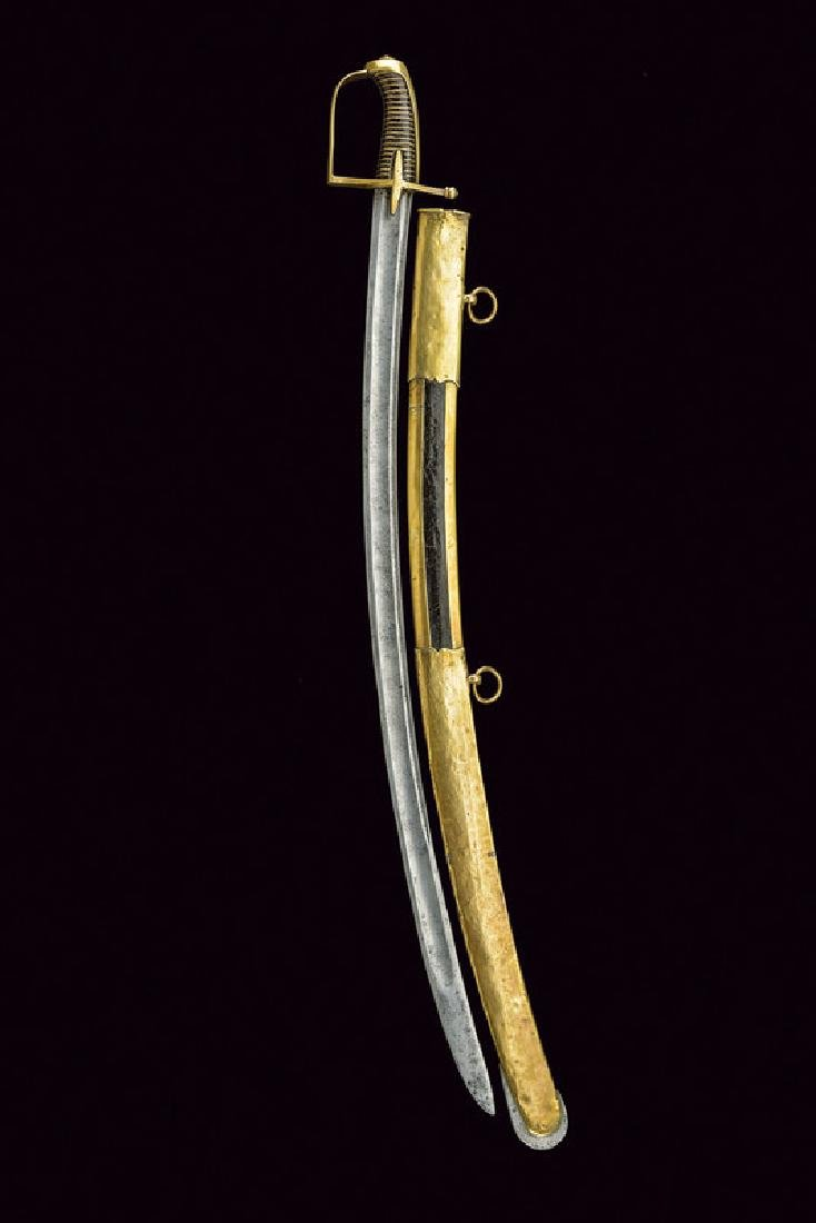 A revolution period hussar's sabre, dating: 1796 - 98, - 6