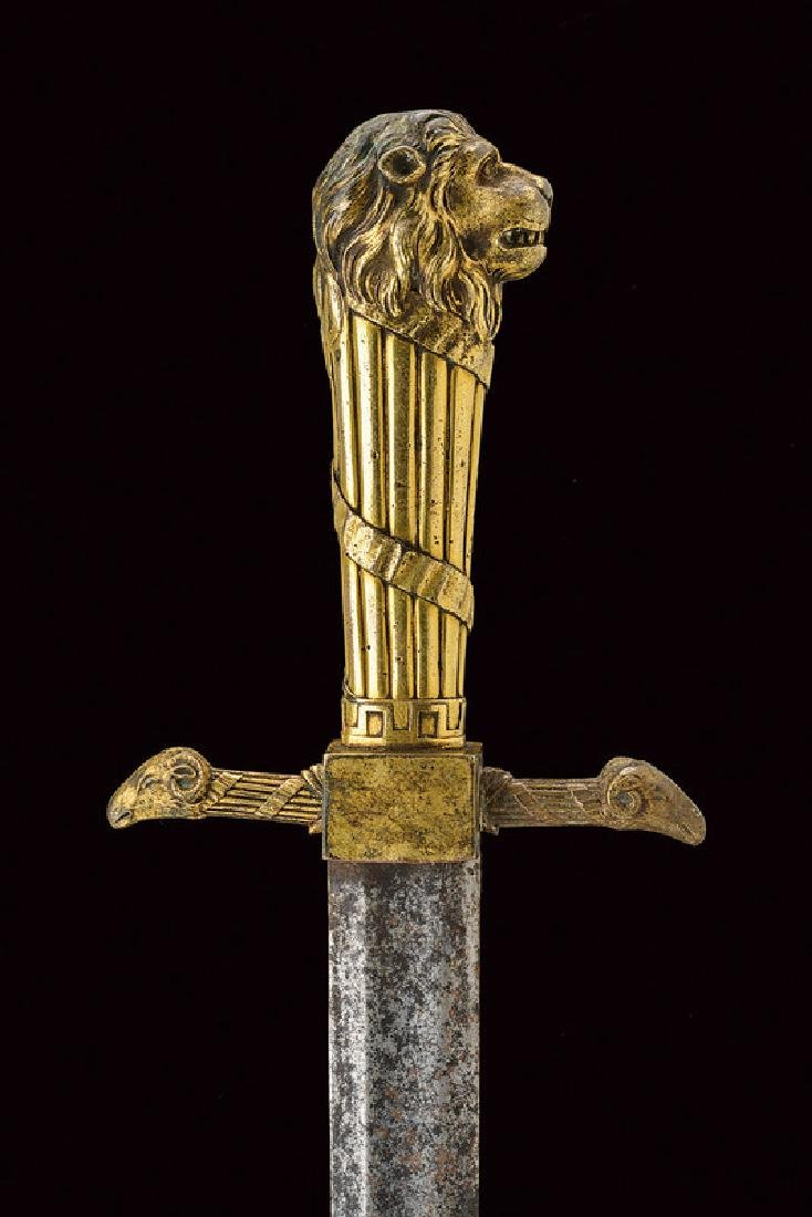 An interesting sword, dating: 18th Century, provenance: - 2