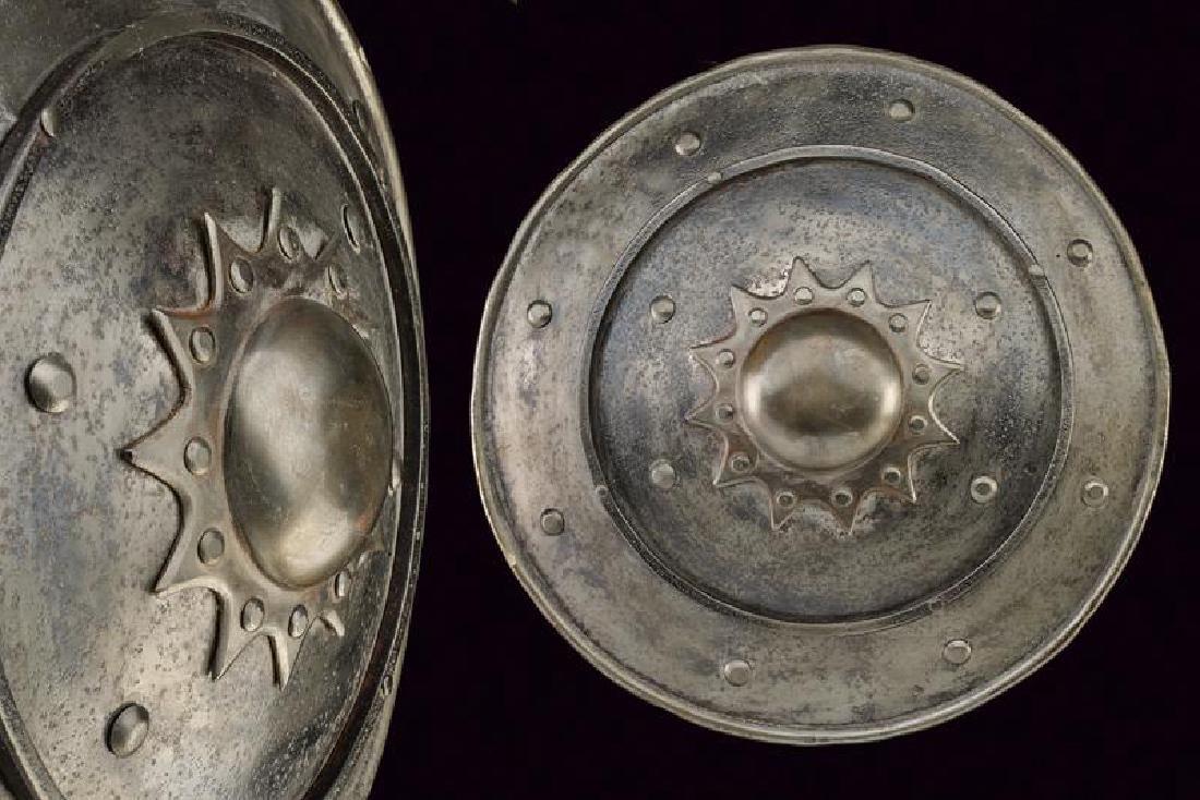 A shield, dating: 19th Century, provenance: Turkey,