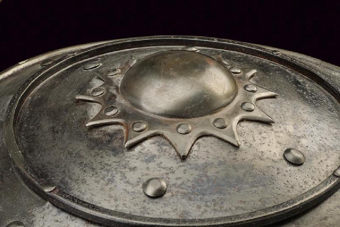 A shield, dating: 19th Century, provenance: Turkey, - 3