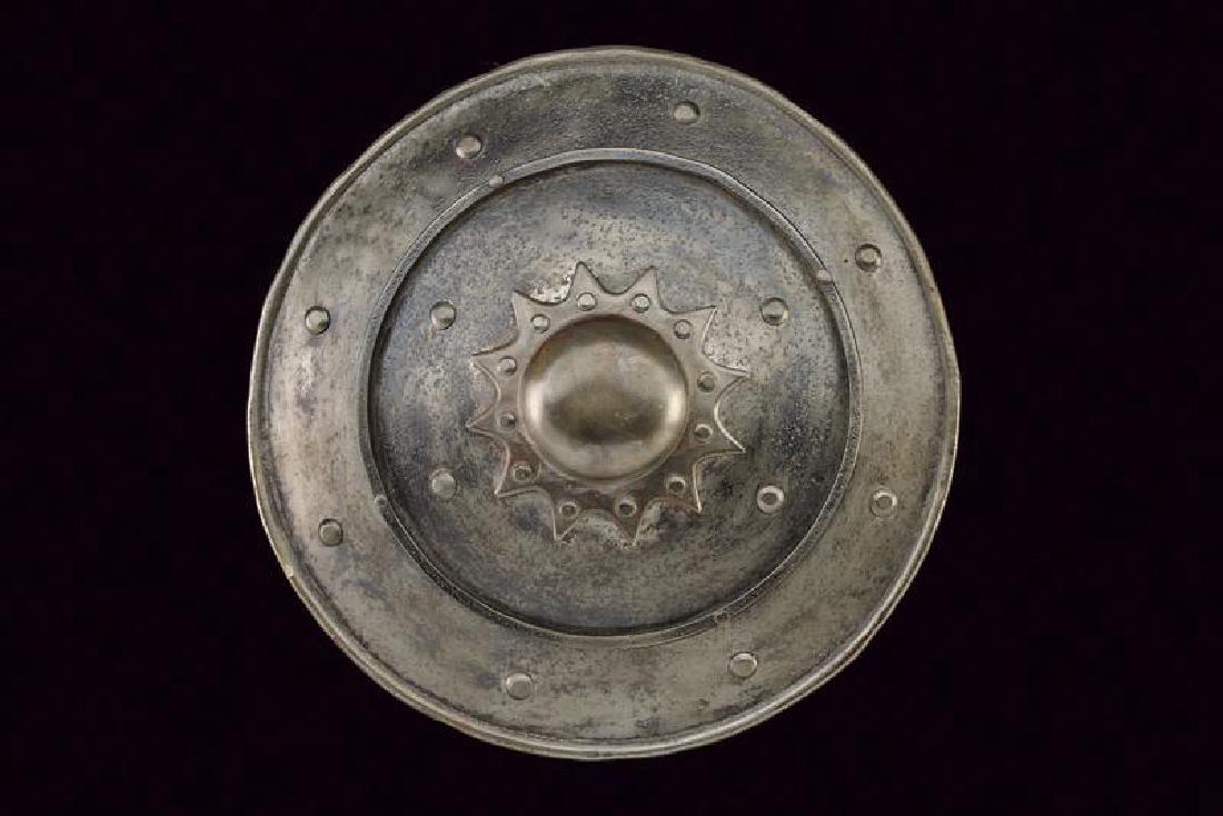 A shield, dating: 19th Century, provenance: Turkey, - 4