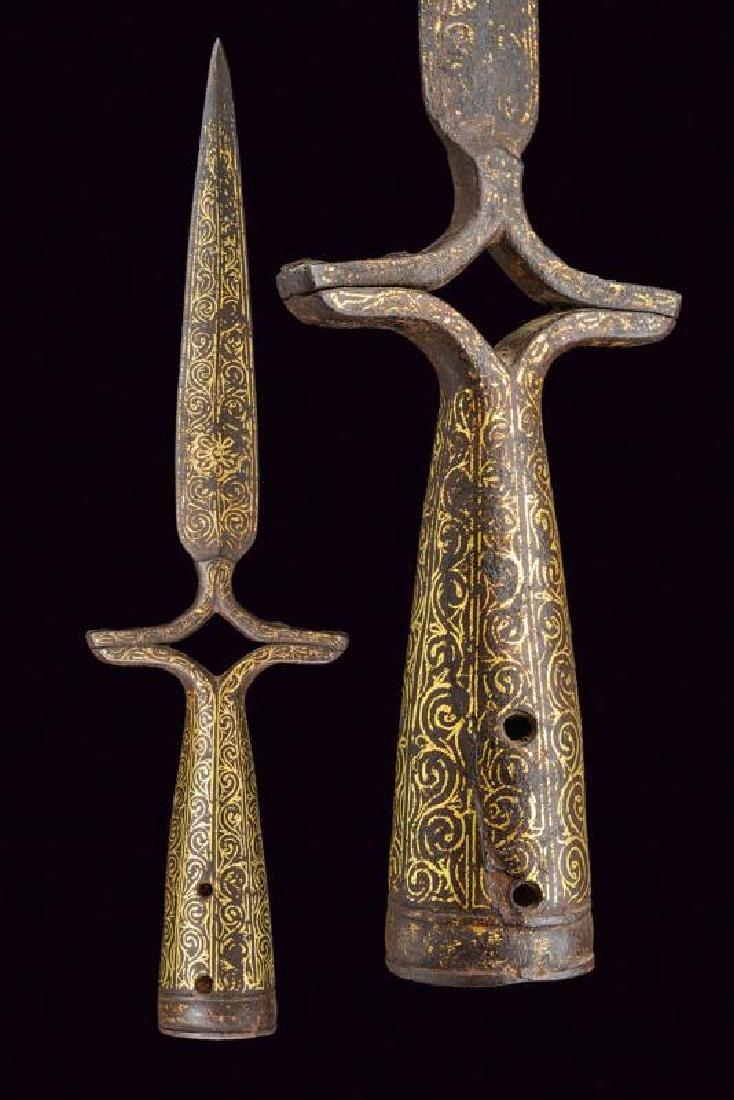 A spontoon, dating: circa 1800, provenance: India,