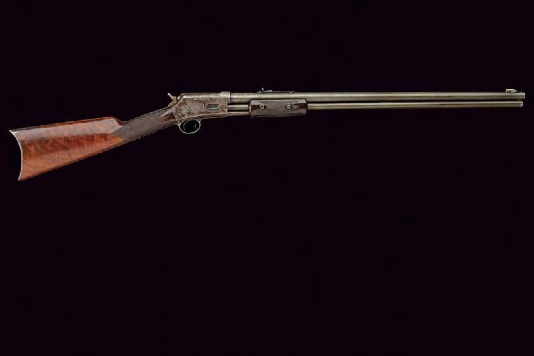 An engraved Colt Lightning Slide Action, Medium Frame, - 8