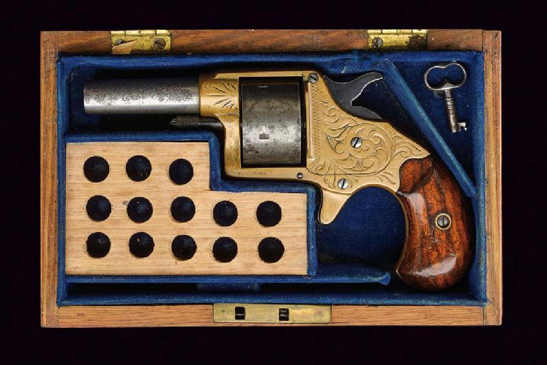 A cased Colt House revolver, dating: about 1870,